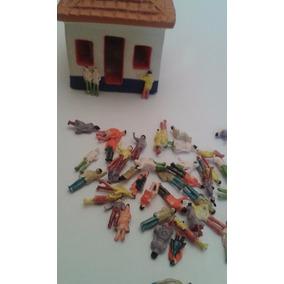 Pessoas Miniaturas 50 Pç Figura Ferreomodelismo Maquete