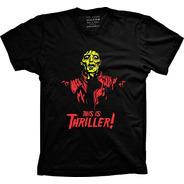 Camiseta This Is Thriller! Vários Tams Plus Size G1 G2 G3 G4