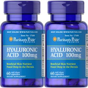 Acido Hialuronico Puritan´s 100mg Americano X60 Envio Gratis