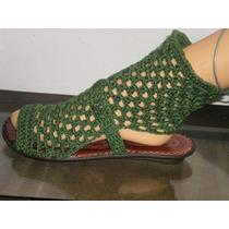 Botitas Artesanales Tejidas Al Crochet