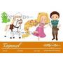 Kit Imprimible Enredados Rapunzel Imagenes Clipart Cod 7