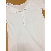 Vestido Blanco Con Botones De Mujer