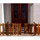 Puertas En Madera Dura Para Exterior-pileta C/herrajes