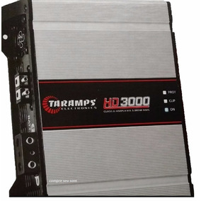 Módulo Amplificador 3000 W Rms Taramps Hd3000 Compact 1e2ohm