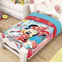 Minnie Mouse Mim Frazada Cunero Cobertor Bebe Ligero 1.10*90