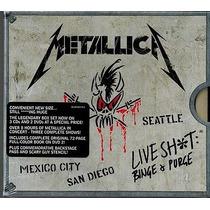 Metallica Live Shit Binge E Purge Dvd Box Importado Lacrado