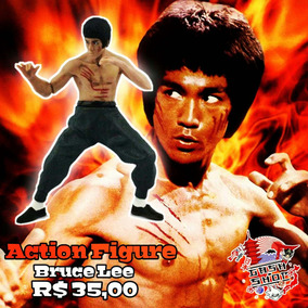 Action Figures Bruce Lee Filmes Clássicos
