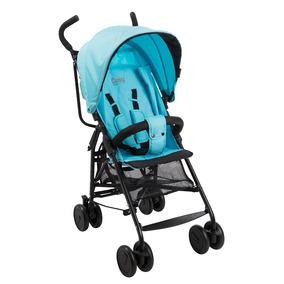 Carrinho De Bebê Cosy Azul Verão Reclinável - Burigotto