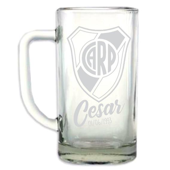 Chop 500 Ml Vasos Cerveza Grabado Láser Regalo Tu Marca