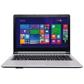 Notebook Positivo Quad I3 4005u 4gb 500gb Hdmi Wifi Top K642