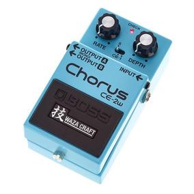 Pedal Boss Ce-2w Chorus Waza Craft Ce2w Edição Especial