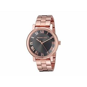 Reloj Michel Kors Para Dama Oro Rosado Mk3585 - Norie