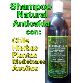Shampoo Anti Caida Extracto De Chile Ingredientes Naturales