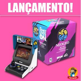 Neo Geo Mini Classic Console Mão Snk / 40 Jogos / Novo