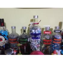 Botellas Con Estrellas De Papel