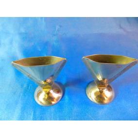 El Arcon Par De Violeteros Floreros De Metal 25057