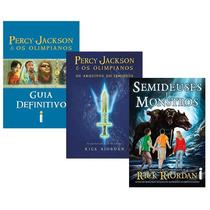 Kit Livros - Manuais Percy Jackson (3 Livros) #