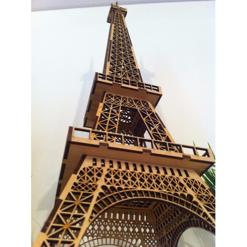 Torre Eiffel Mdf Decora??o Puzzle 3d *oferta Tempo Limitado