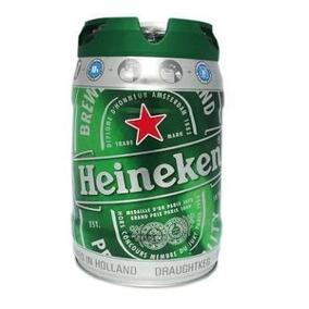 Barril Vacio De Cerveza Heineken 5 Lts.