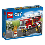 Lego City Camión De Bomberos Juguete De Armar Bloques Niños