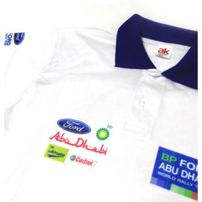 Camisa Pólo - Dry Fit Estampa Ford World Rally Team - Es025
