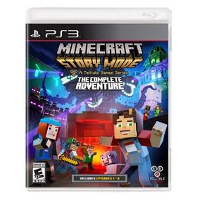 Minecraft Story Mode: Complete Adventure - Ps3 - Nuevo