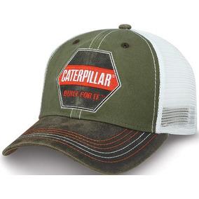 Gorra Caterpillar Original Beige Con Blanco Malla - Gorras en ... 3e37d76251e