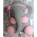 Amigurumis Animales Tejidos Al Crochet Elefante
