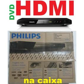 Dvd Player Philips Dvp3680kx/78 Na Caixa Hdmi Visor Karaokê