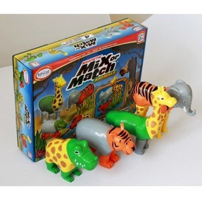 Popular Playthings Mix Or Match Animals (bilingual)