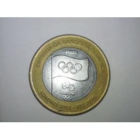Moeda Olimpíadas Entrega Da Bandeira
