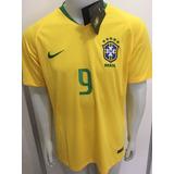 c72398942 Camisa Nike Seleção Brasil Home 2018 Gabriel Jesus 9 Oficial