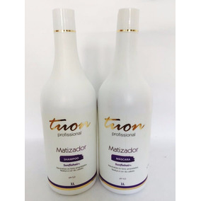 Tuon Cosméticos - Shampoo 1l + Máscara Safira Matizadora 1l