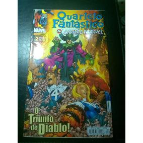 Hq Quarteto Fantástico E Capitão Marvel Nº2 Panini 2002