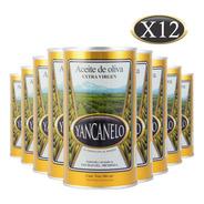 Aceite De Oliva Extra Virgen Yancanelo Lata 500 Ml X 12 U