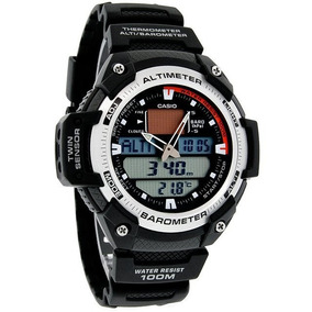 8fa0196be56 Relógio Casio Outgear Sgw 400 Hd Altimetro Barometro Aço - Relógios ...