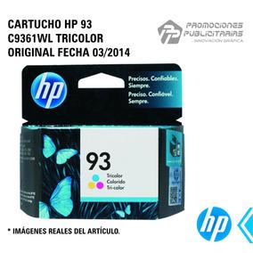 Cartucho Hp 93 C9361wl Tricolor Original 7 Ml Fecha 03/2014