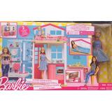 Barbie Casa Glam De 2 Pisos Con Muñeca