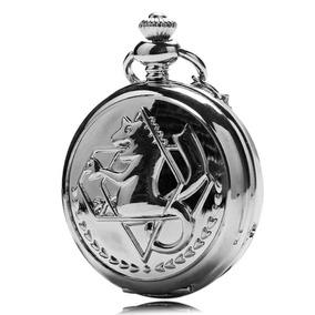 Reloj Full Metal Alchemist Envio Gratis Espejo + Cadena