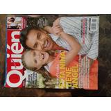 Revista Quien Portada De Eugenio Derbez Y Loreto Peralta