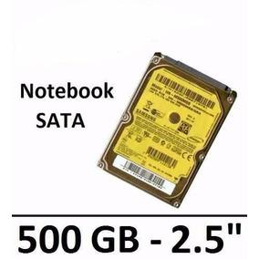 Disco Rígido Hd Sata Notebook Netbook 500gb - Usado 100%