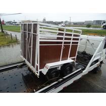 Reboque, Carretinha 01 E 02 Cavalos Mod. Cargo Em Até 18 X