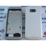 Carcaça Nokia 5530 Branca + Caneta + Chassi + Bateria Bl-4u
