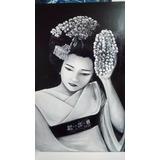 Cuadro Acrilico Original Geisha- Nets Art