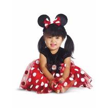 Disfraz Minnie Mouse Rojo Envio Gratis