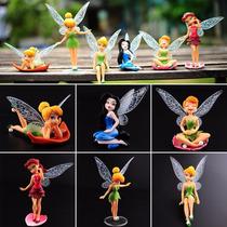 Fadas Tinker Bell 6 Miniaturas Tinker Bell Fadinhas Sininho