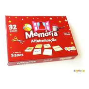 Jogo De Memória Alfabetização 32 Peças - Sopecca M300