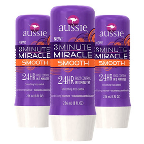 Aussie 3 Minute Miracle Smooth 24hs Frizz Control