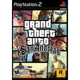 Grand Theft Auto San Andreas Playstation 2 Nuevo