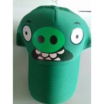 Gorra De Red, Puerco, Angry Birds,